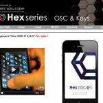 Hex Series 製品紹介Webサイト