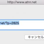 WordPressの短縮URLを表示するコード