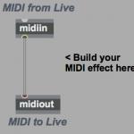 Max for Live でMIDI CC(MIDIコントロール)を制御する方法
