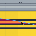 Ableton Liveでエンベローブをカーブさせる方法