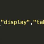 jQueryでtrのdisplayをblock,noneで表示/非表示させる時に発生する問題の解決法