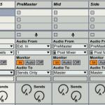 Ableton LiveとS1 MS MatrixでM/S処理をする方法