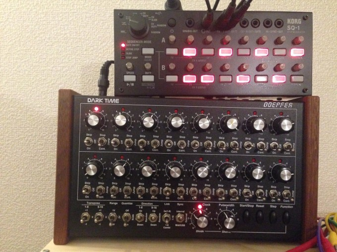 Doeper Dark Time and KORG SQ-1