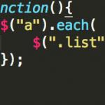 jQueryでHTMLファイル内にあるリンクのリストを作る
