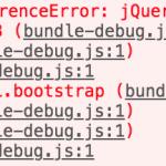 【JavaScript】ES6でjQueryプラグインをimportした際にjQueryのエラーが出る場合の対策