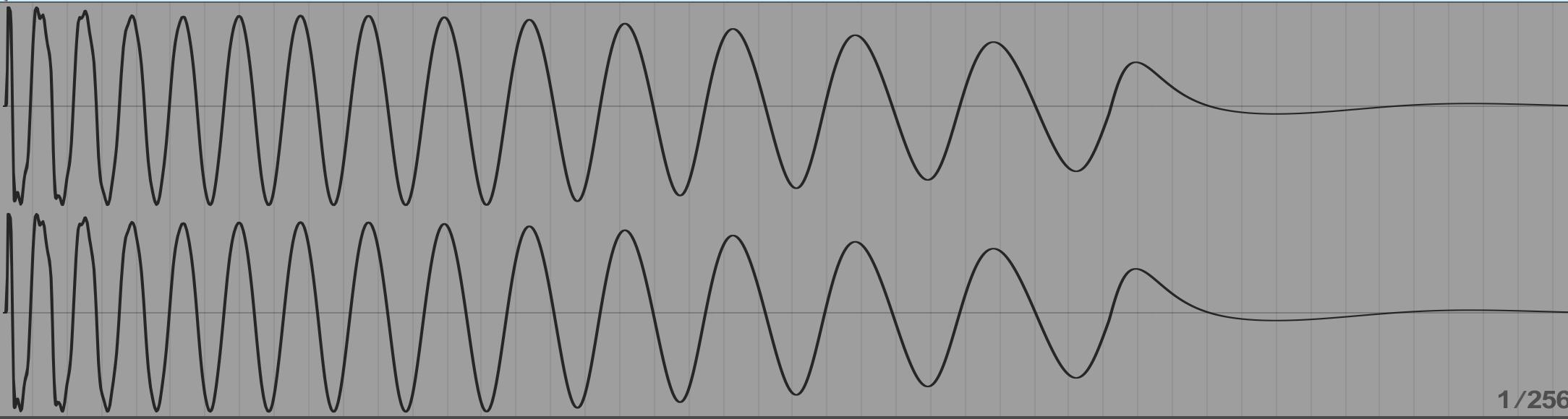 キックの波形