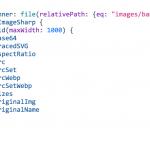 gatsby-imageで画像を表示する方法