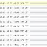 doPost()を実行した際のGoogle Action Scriptのログを見る方法
