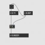Max8 で小数点同士の乗算(かけ算)をする方法