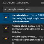 VS CodeでEmotionのCSSをハイライトするエクステンション