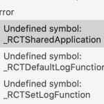 React Native  _RCTSharedApplicationエラーの対策