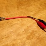 モジュラーシンセサイザーのアウトプットの電圧を測るためのアダプターを作る