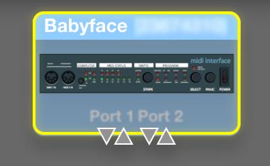CCモードのBabyface
