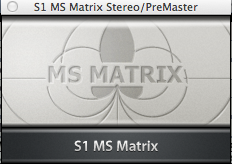 S1 MS Matrix VST
