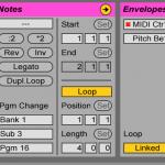 Ableton LiveでMIDIプログラムチェンジを設定する方法