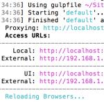 PHPのページをGulpとBrowser Syncでブラウザに自動表示する方法