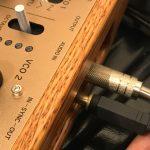 KORG monologueのオシロスコープで外部入力の波形を確認する方法