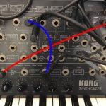 KORG MS-20 でフィードバックを得る